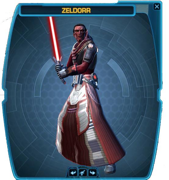 zeldorr body
