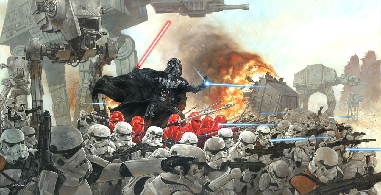 Star Wars Art by Dave Dorman %tag