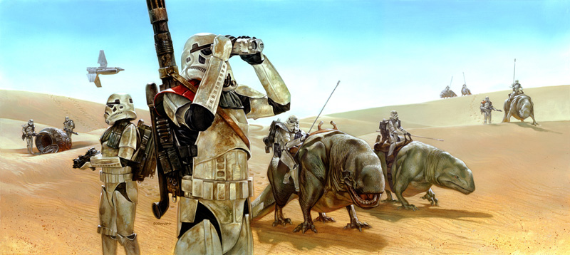 Star Wars Art by Dave Dorman %tag
