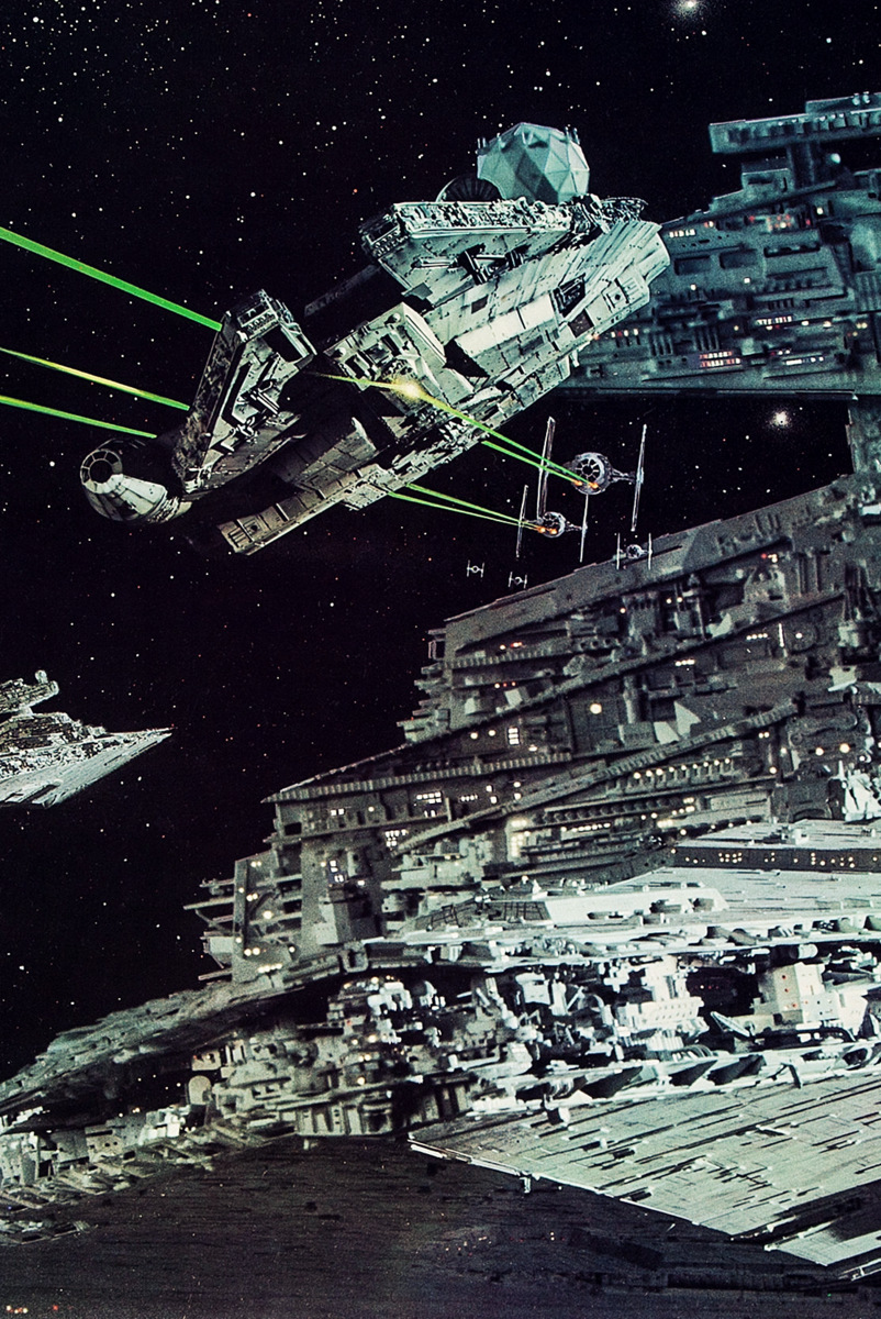 The odds of survive an attack on an Imperial Star Destroyer %tag